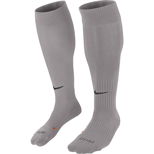 886c936907c2 Nike Classic II Socks  6 x Nike Classic II Football Socks Pewter Grey  (Black)
