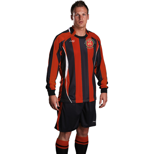Droitwich Barcelona Red/Black Home Set
